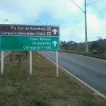 Placas de sinalização de trânsito BH